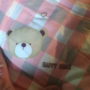 Children's ,,'Happy Bear's comforter
